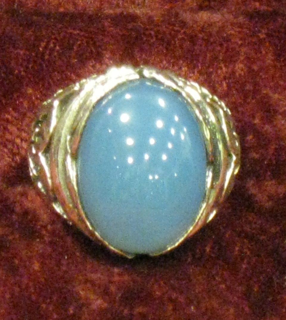 KIRAN Agate bleue