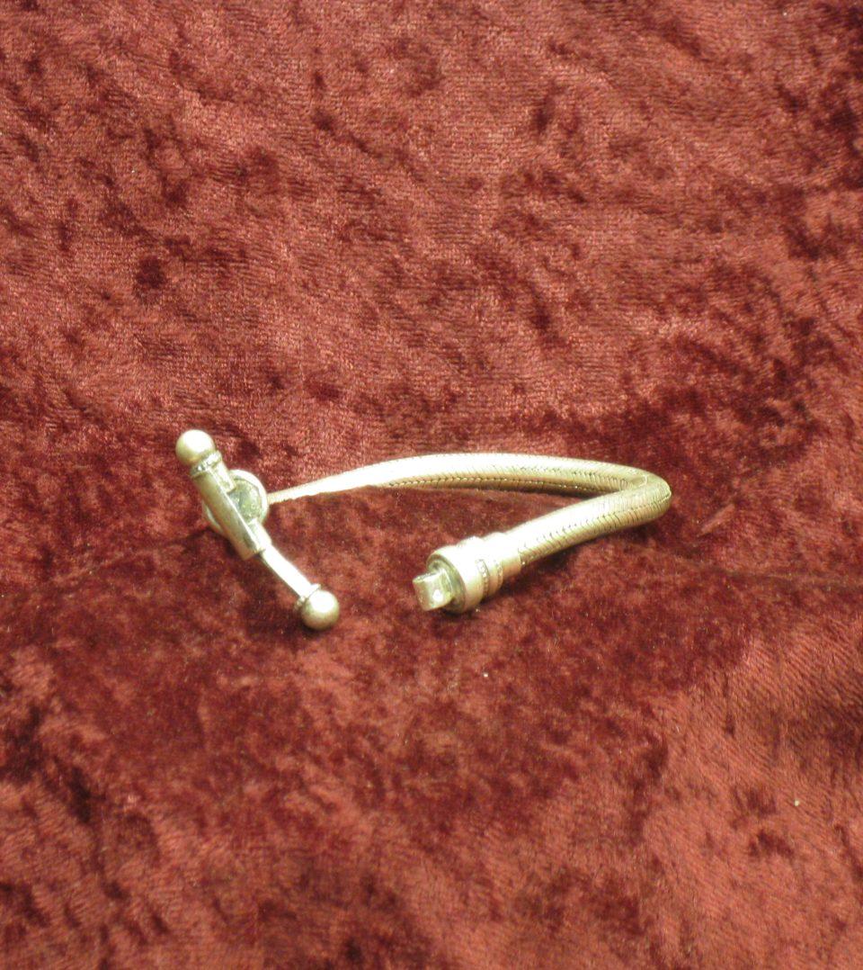 bracelets snake rond diam. 5 à 6 mm